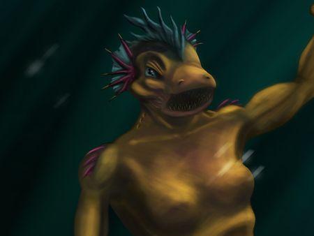 Beautiful Mermaid... NOT!