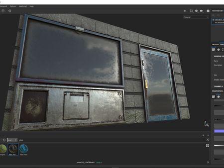 Cyberpunk Modular City - Blender/Substance Painter/Unity