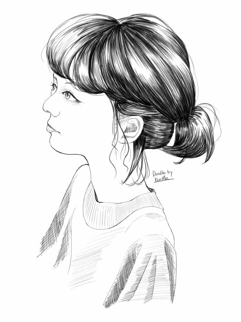 Quick doodle study