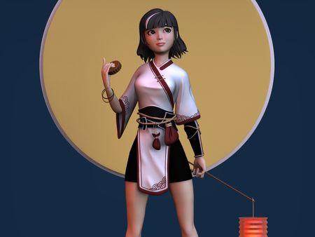 Mid Autumn Festival (Original concept by Kan Liu)