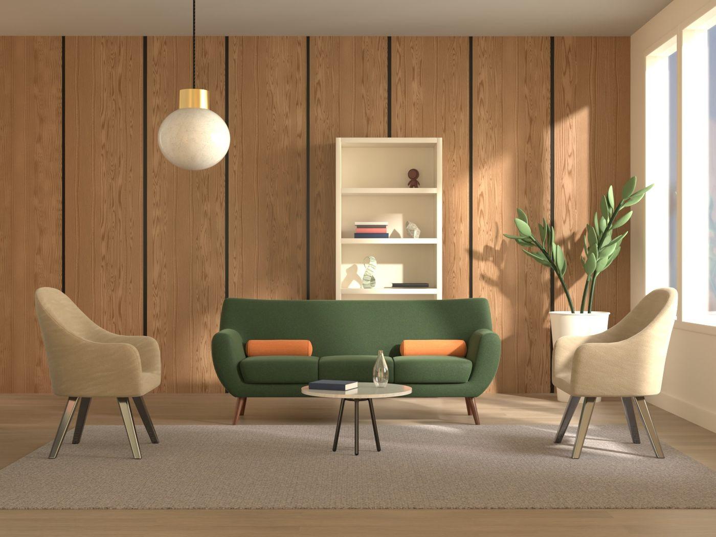 Adobe Substance 3D - Living Room