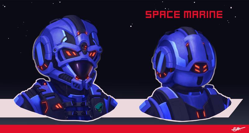 Space Marine Helmet