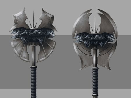 Obsidian Axe Design