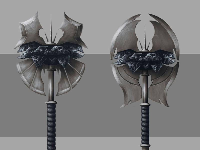 Obsidian Axe Design