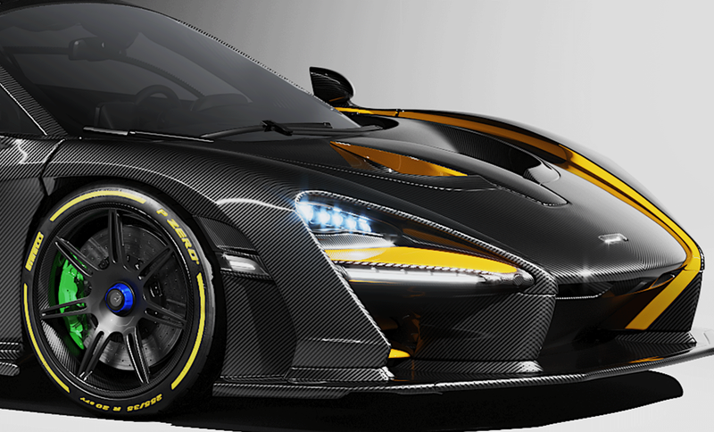 McLaren Senna MSO Render