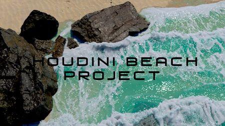Beach Simulation Houdini