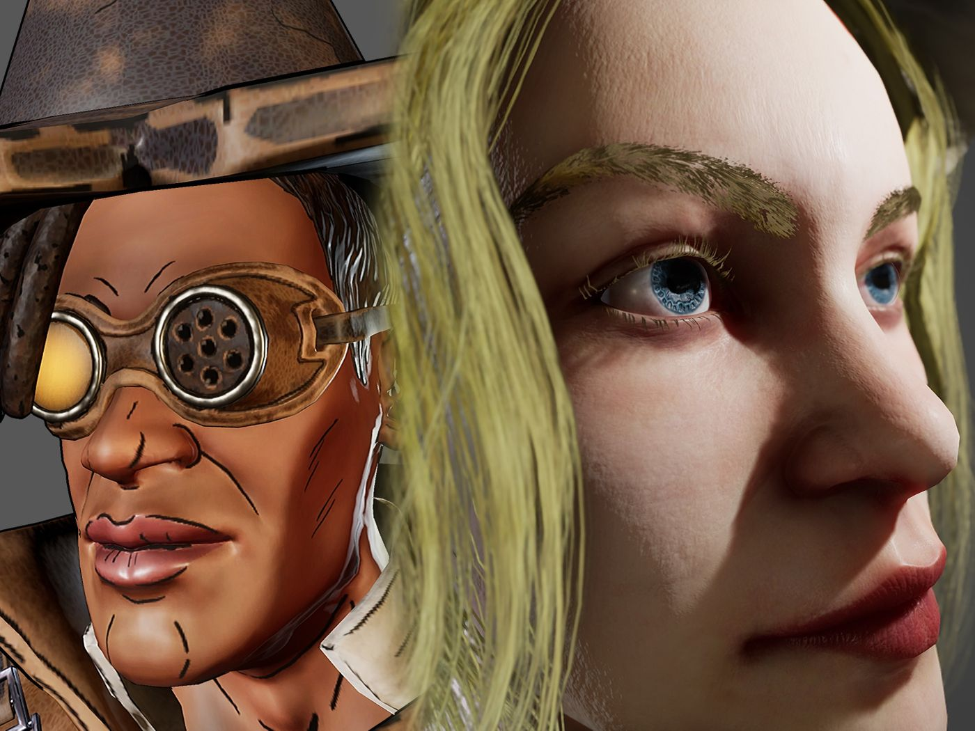 Borderlands Fan Art : Clay & Realtime Character: Tavern Keeper