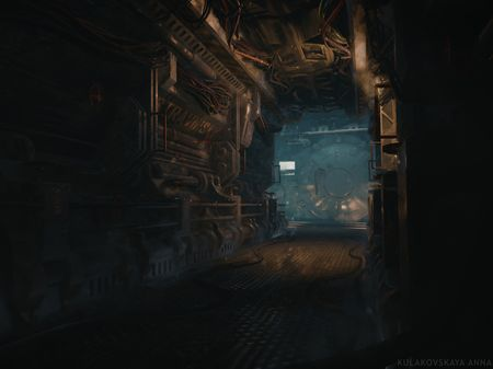 SCP 3000. Corridor