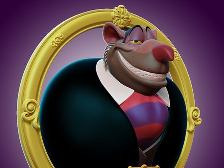 Ratigan Fan art