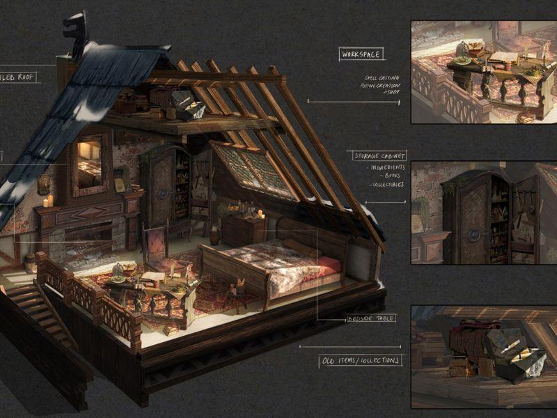 Props - Freja's Residence