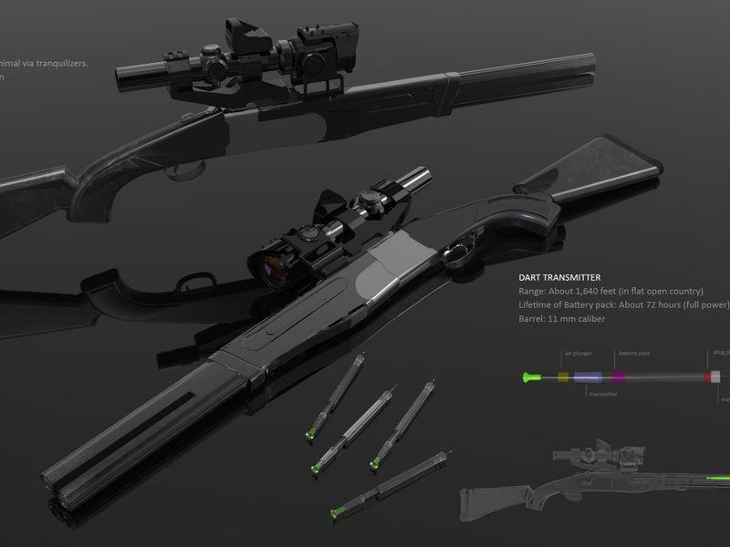 Props - Tranquilizer Gun