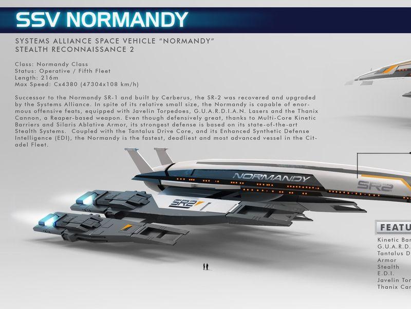 Normandy SR2 - Mass Effect