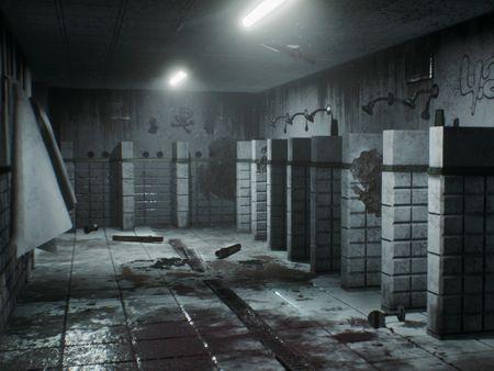 Abandoned Bathroom Environment [Unreal Engine 4]