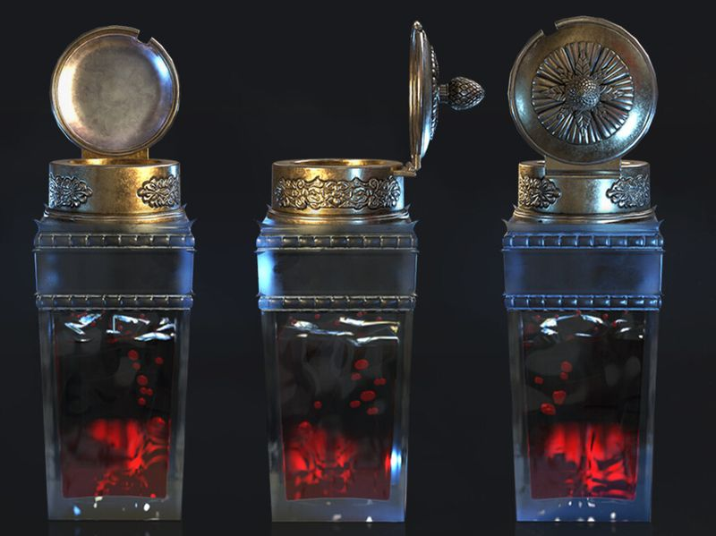 Potion Vial - Aava Art Jam Challenge (March)