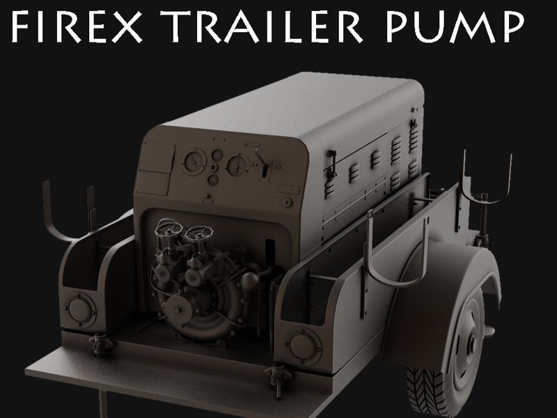 Firex trailer pump