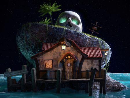 Pirate's bar