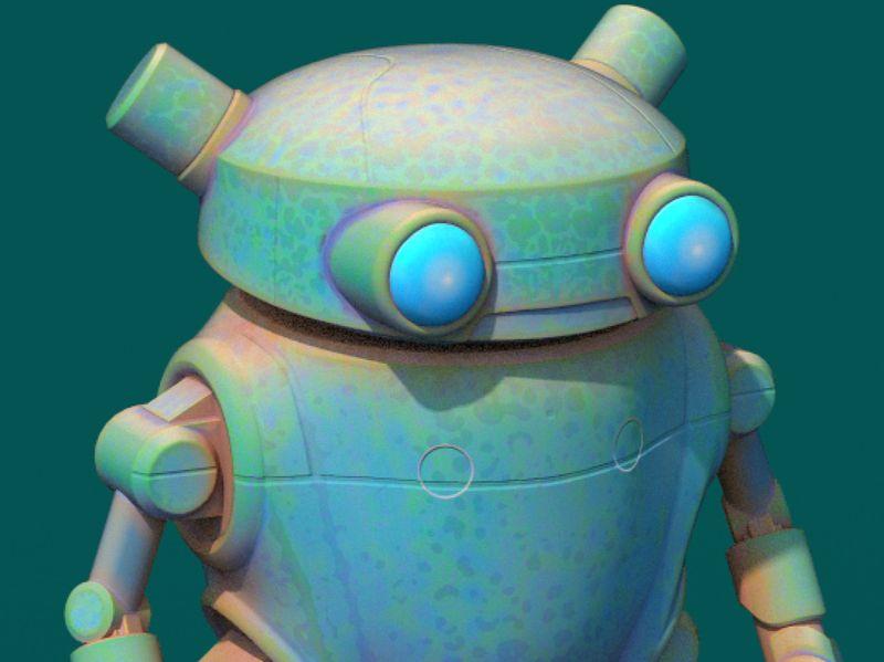 WIP Eddie Robot