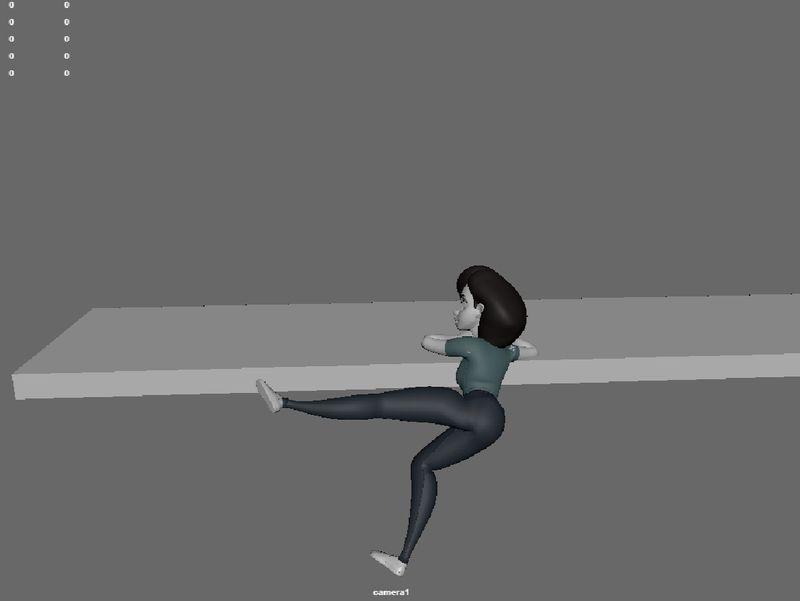 Keaton-inspired animation