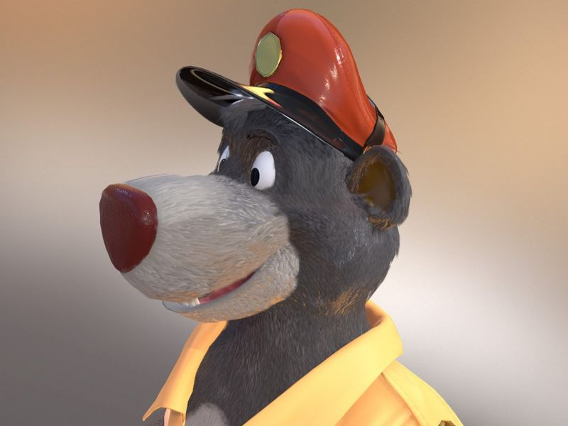 Baloo - Low Poly character