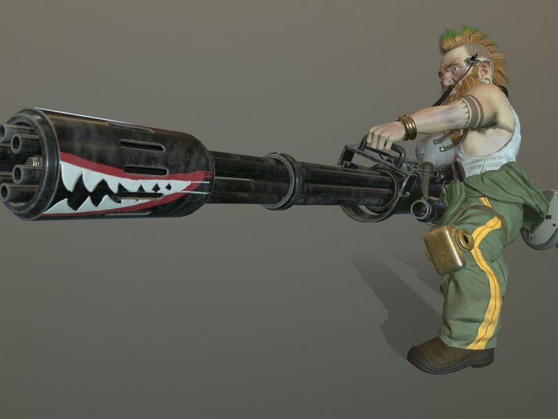 Gunner Dwarf