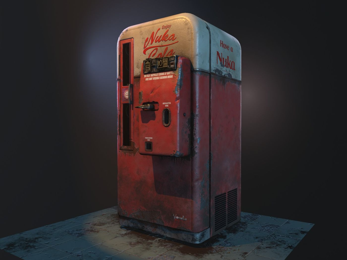 Nuka Cola Vending Machine
