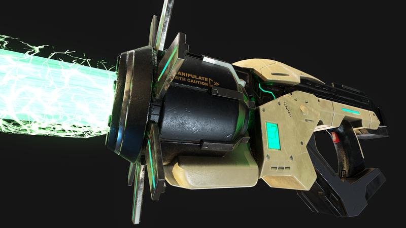 Gravity Field Generator Gun