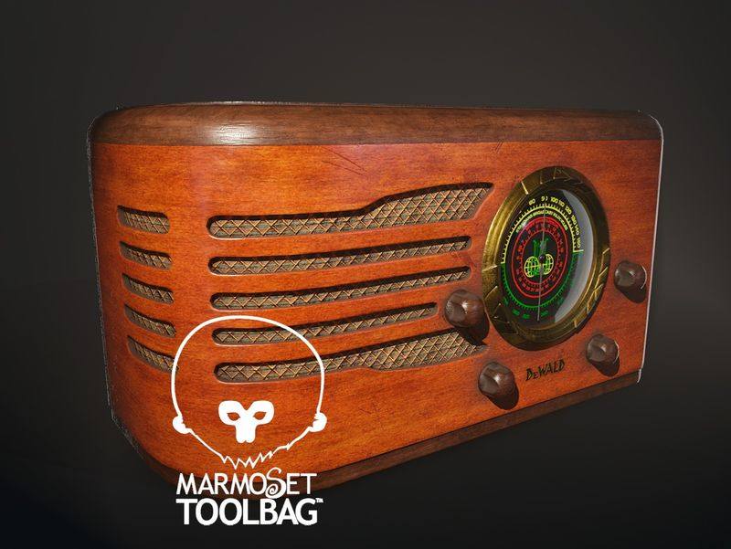 DeWald 618 tube radio