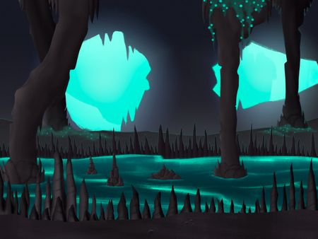 Cave Enviroment for a game