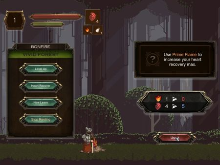 2D Game Devlog2: bonfire, GUI upgrades, enemy IA and boss preview