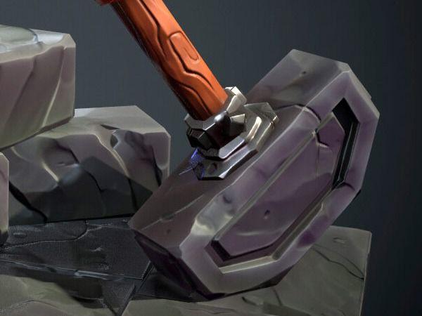 Stylized Forgotten Hammer