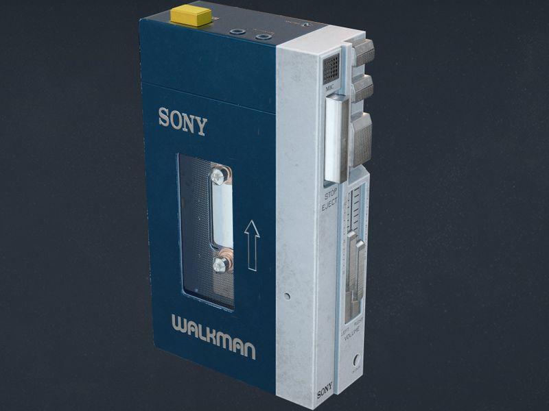 Walkman TPS-L2 Game asset