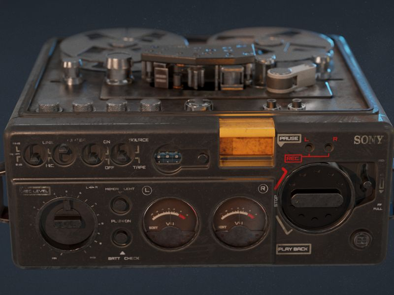 Sony 510-2 Recorder Game asset