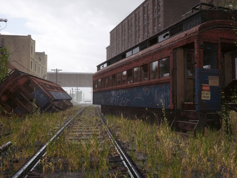 Meeting at the Old Trainyard