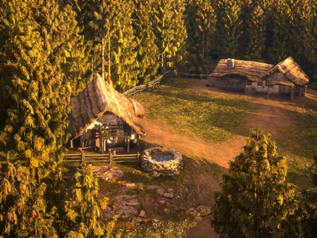 PROJECT : UNREAL ENGINE 5 : MEDIEVAL FOREST