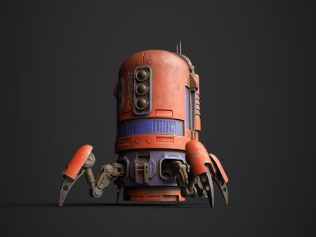 PROJECT : SUBSTANCE PAINTER : 09 DWIGHT SPIDERBOT