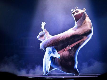 Floyd the polar bear