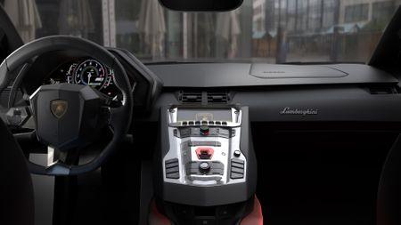 Lamborghini Aventador - Interior CGI