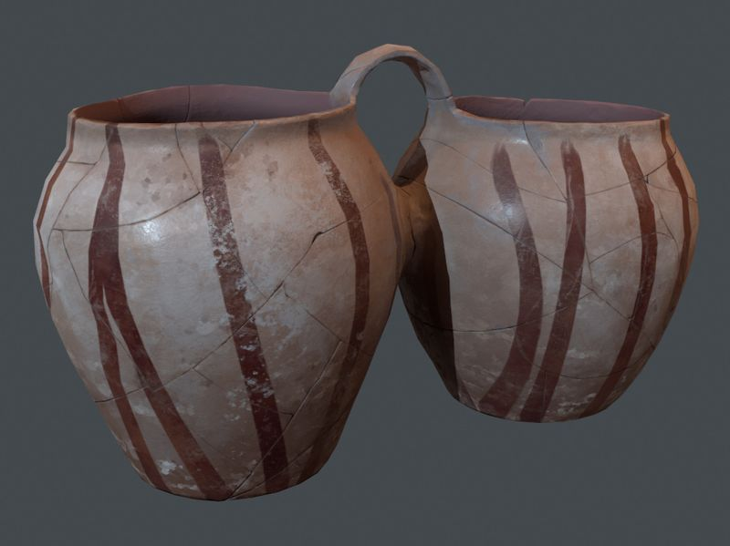 Weekly Drill #3 | Bronze Age Pottery Double Vessel