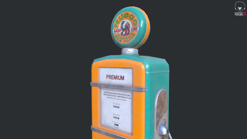 Weekly Drill #6 | Vintage Gas Pump