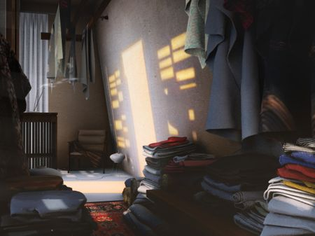 Clothing shop (Children of the sun)