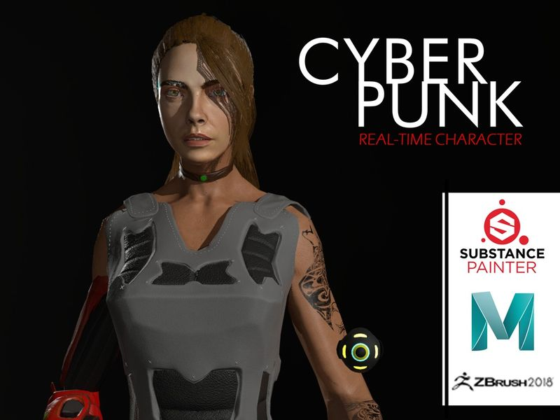 Cyberpunk - RealTime Character