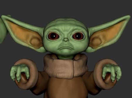Baby Yoda - FanArt Process