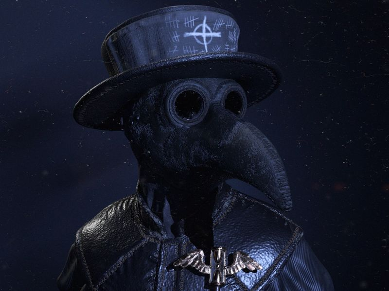 The Plague Doctor - Real-Time Render