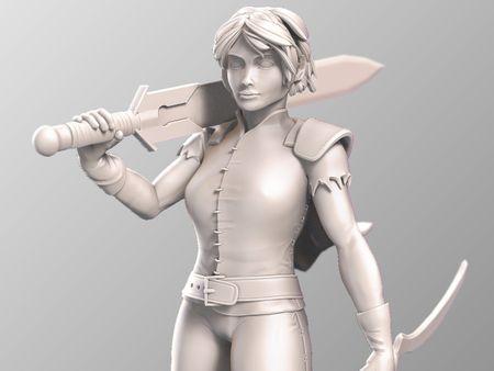 The Swordwoman