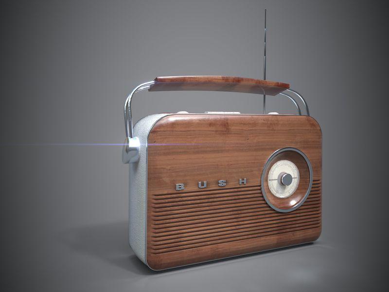 Bush TR82 - Vintage Radio