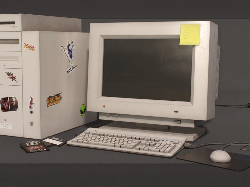 '90s Macintosh Computer