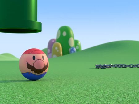 Chomp in, Mario Out!