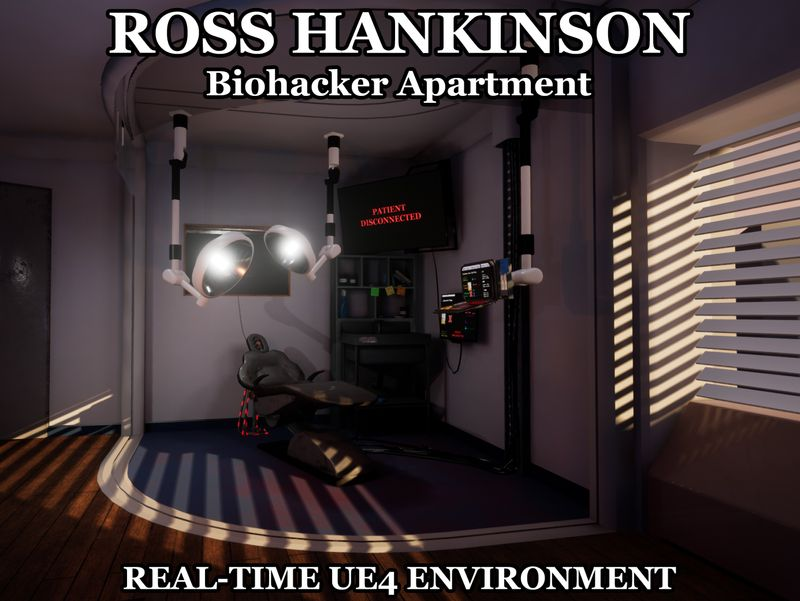 Biohacker Apartment - Technical Art Experiment