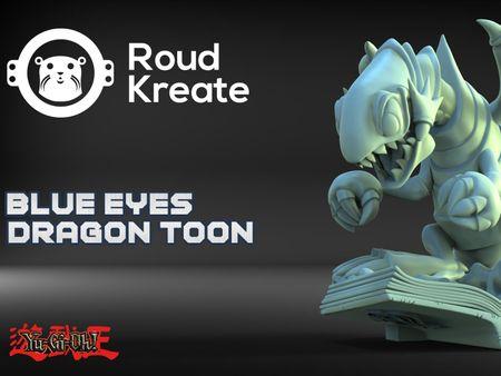 Blue-Eyes Dragon Toon