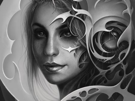 Surreal Portrait Illustration